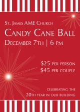 Candy Cane Ball Celebrates 20 Years