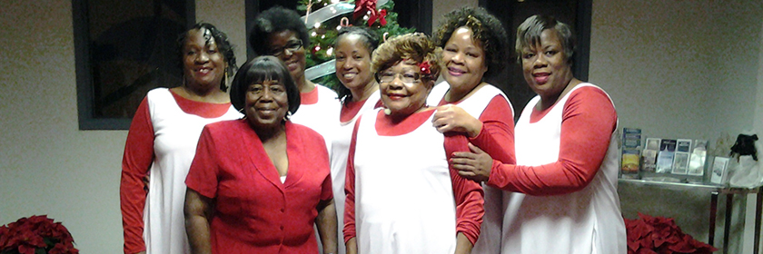 St. James Women's Praise Dancers
