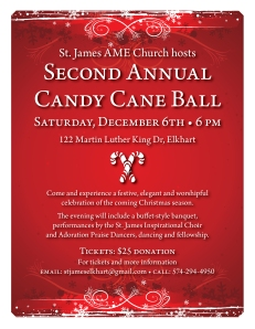 Candy Cane Ball flier